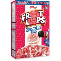 Kellogg's Froot Loops Birthday Cake Cereal