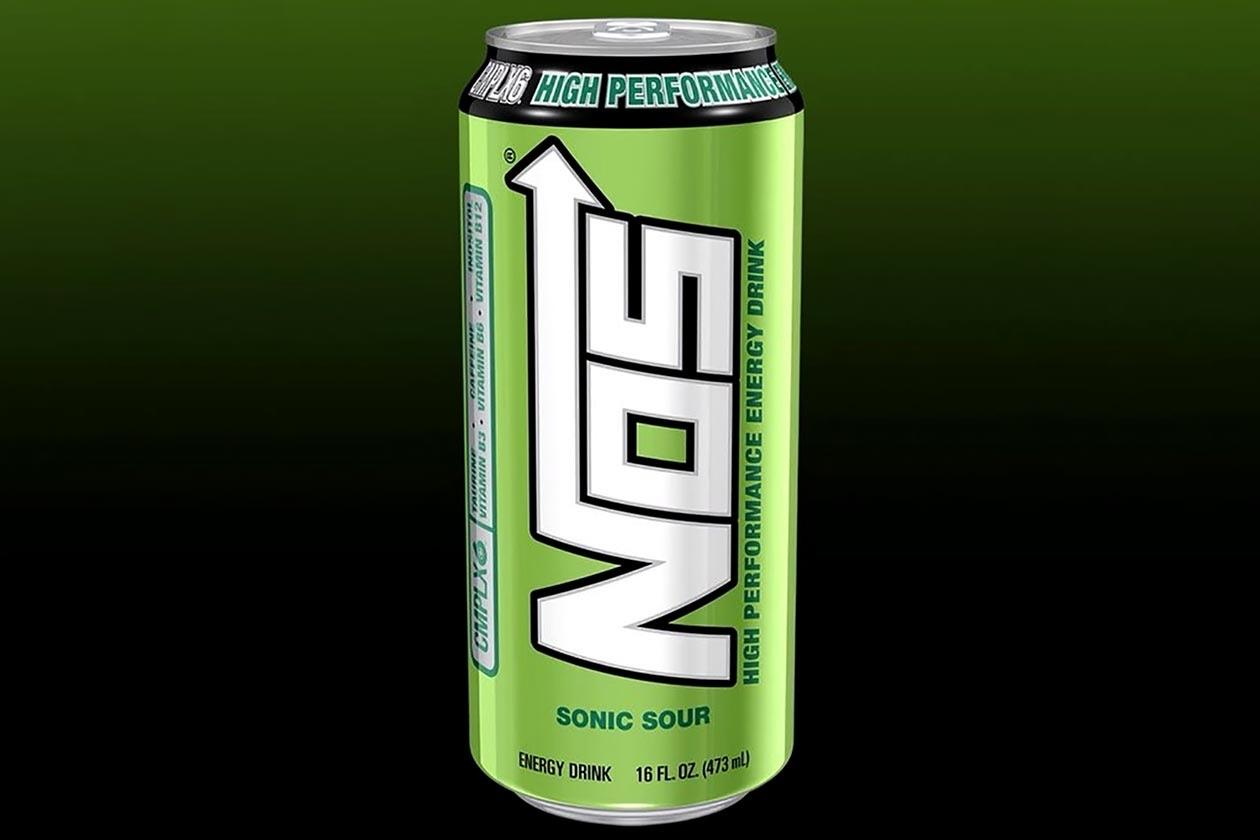 NOS Energy Drink - Sonic Sour