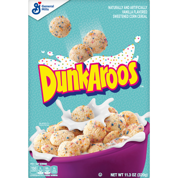 Dunkaroos Breakfast Cereal, 11.3 oz Box