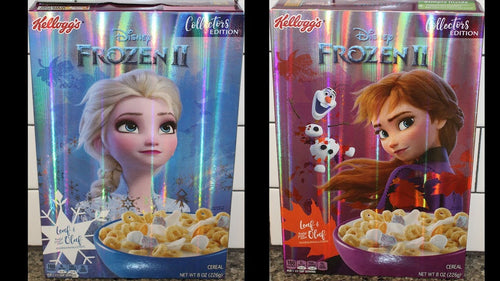 Frozen 2 Cereal - Collectors Edition