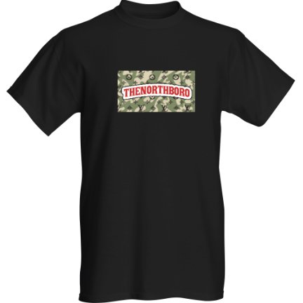 The North Boro CAMO - Tshirt