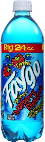 Faygo - Blue Raspberry - 24oz