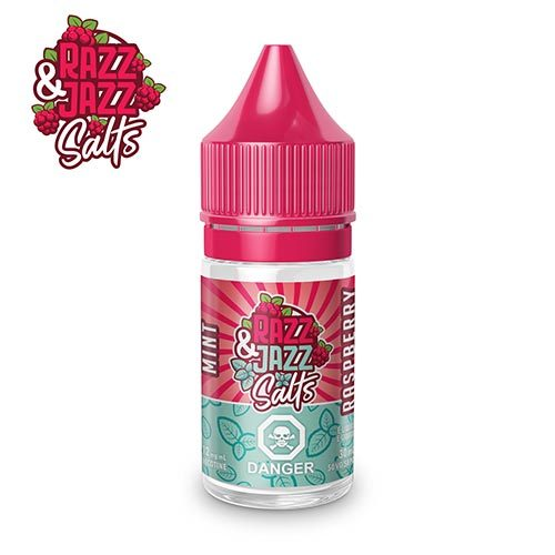 Mint Raspberry (30mL) by Razz and Jazz Salts