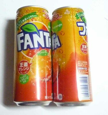 Fanta Orange Japan (can 500ml)