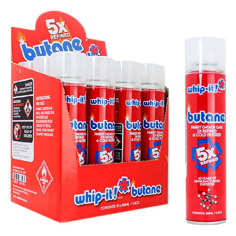 Whip It - Butane - TheNorthBoro - 5x - master case