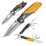 Cat® 3 Piece Multi-Tool and Pocket Knife Gift Set Box