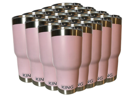 30oz Frosty KING Tumbler - BULK *20 Pack* - Frosty Rotomoled Coolers & Tumblers