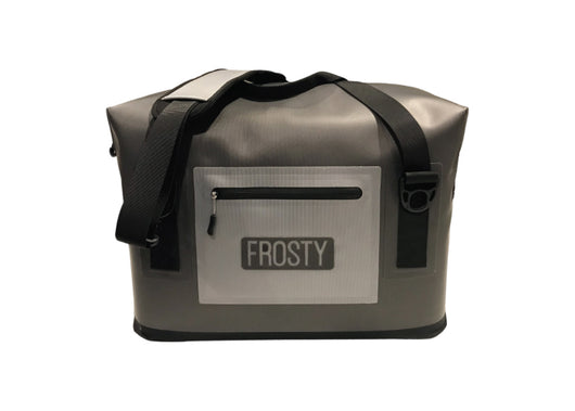 Frosty 24 Can Soft Cooler - Frosty Rotomoled Coolers & Tumblers
