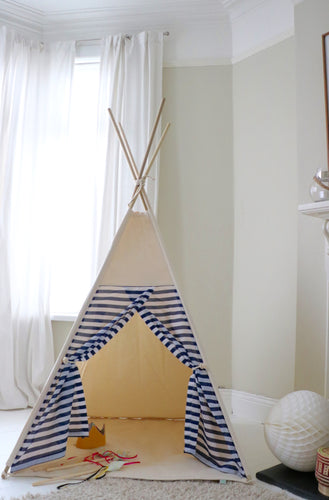 Navy Stripe Teepee