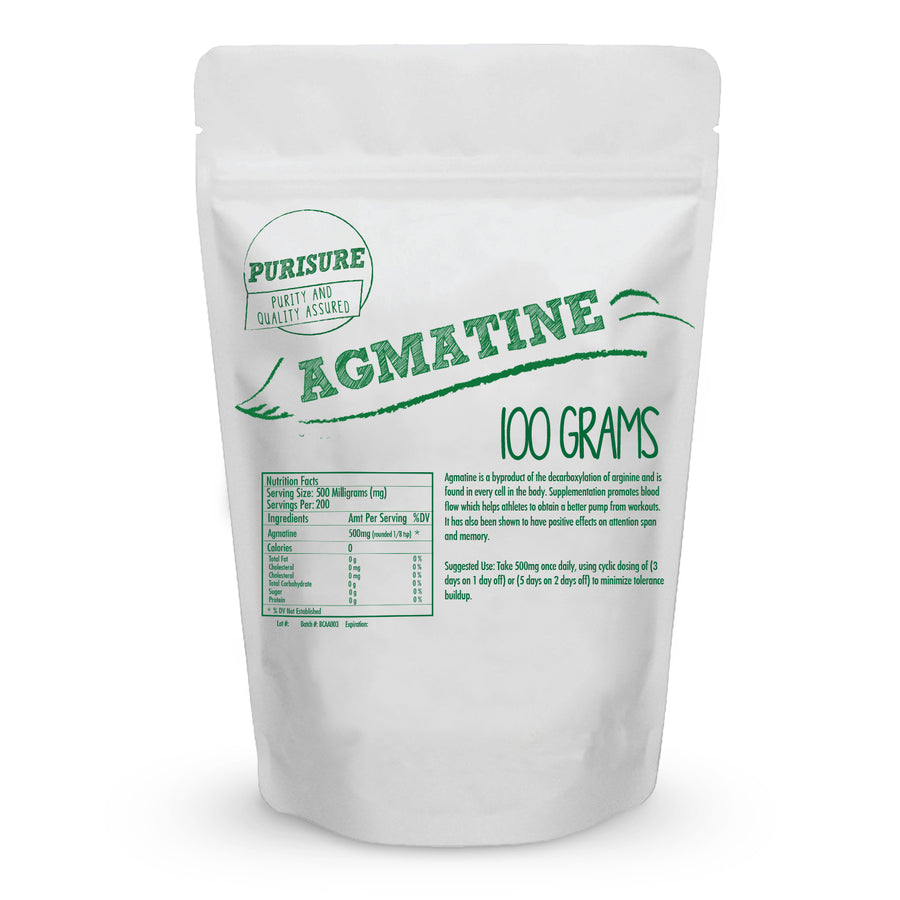 Agmatine Sulfate Powder Workout Supplement Nitric Oxide Booster Wholesale Health Connection