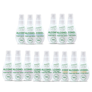 70% Alcohol + 100% Essential Oils Purifying Sprays - All Infusions