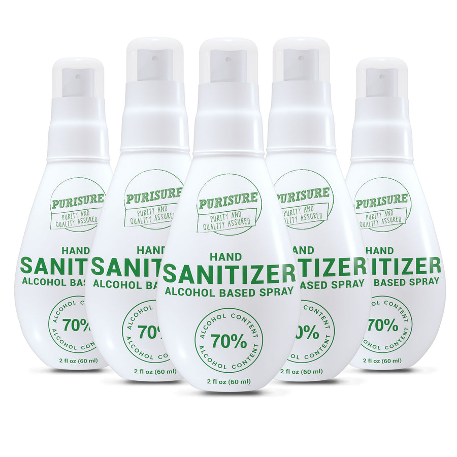 Alcohol-Based Hand Sanitizer Spray