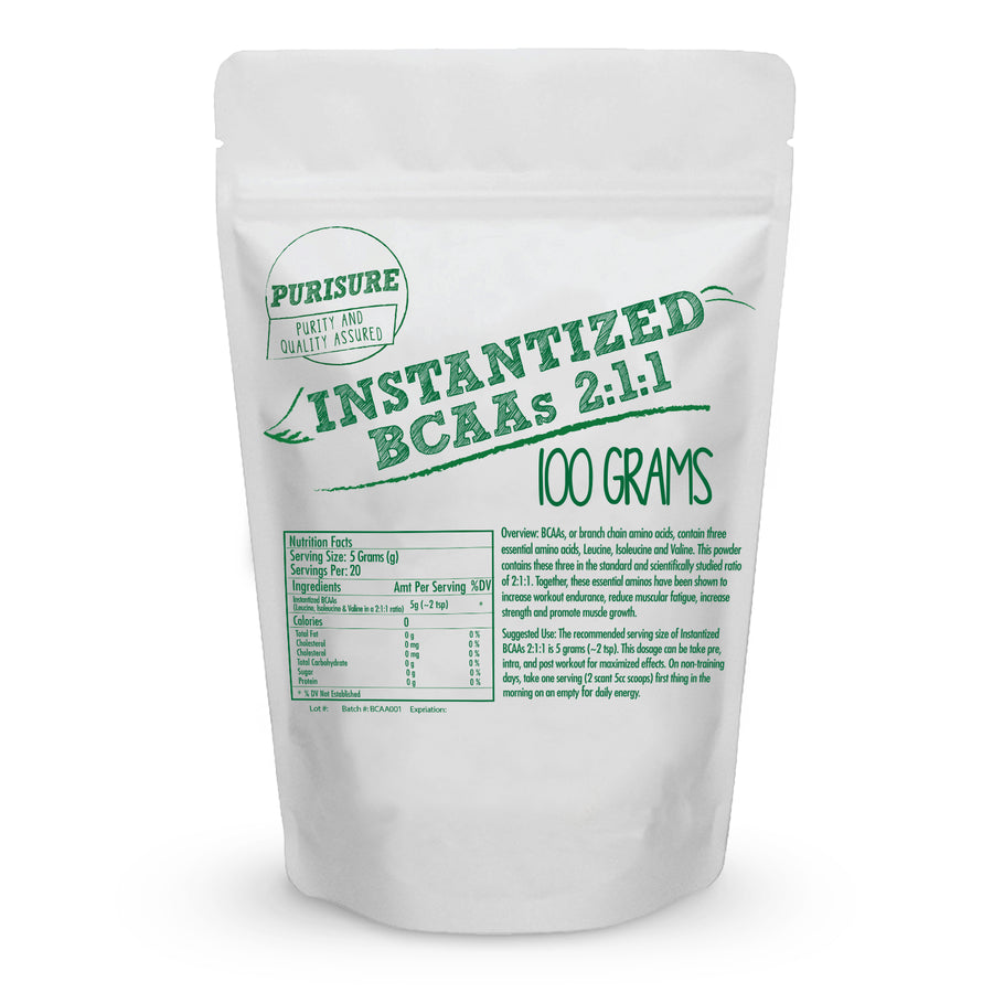 Branched Chain Amino Acids Powder
