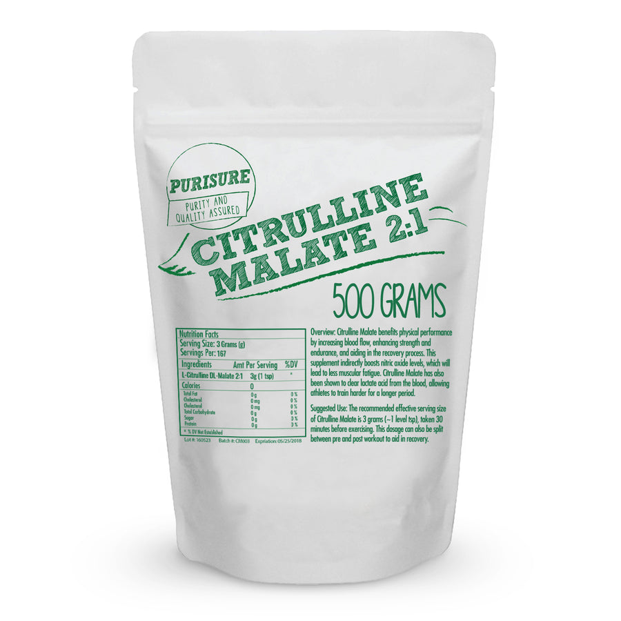 L - Citrulline DL- Malate (2:1) Supplement Wholesale Health Connection