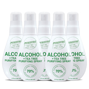 70% Alcohol + Tea Tree Purifying Spray