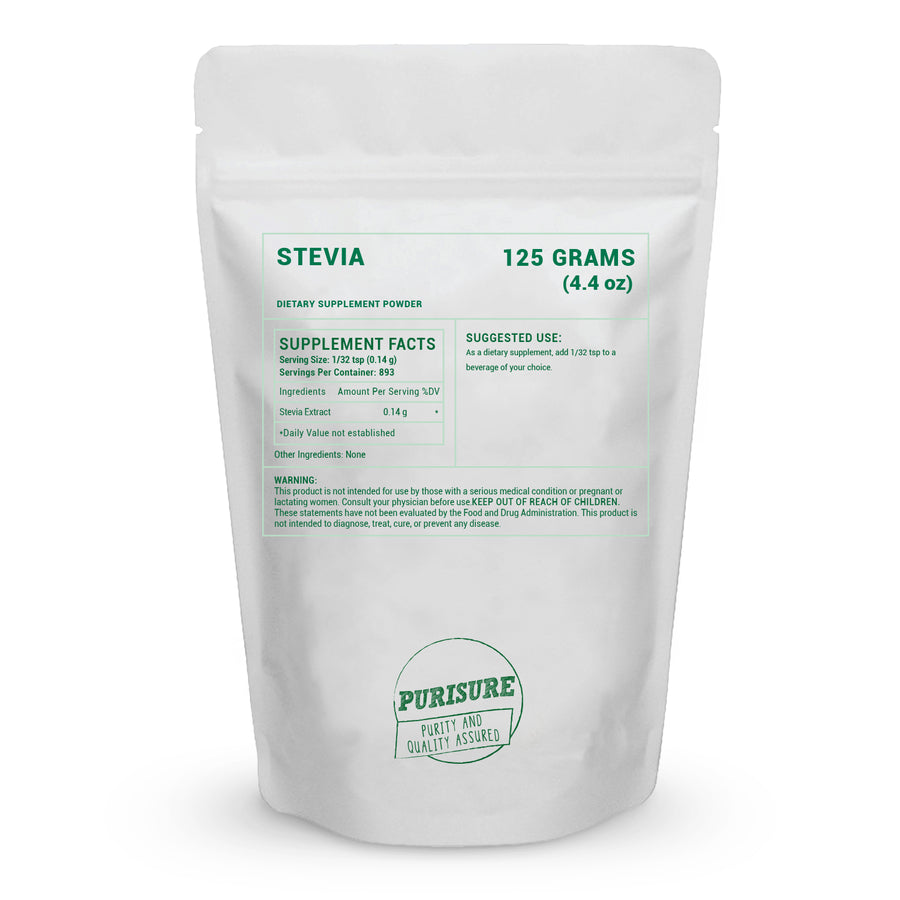 100% Pure Stevia Powder