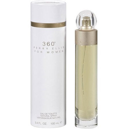 Perry Ellis 360 by Perry Ellis Women Eau De Toilette 3.4 oz