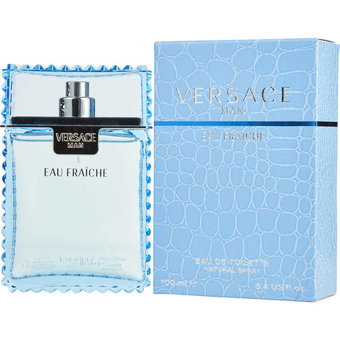Versace Man Eau Fraiche  by Gianni Versace Men Eau De Toilette 3.4 oz