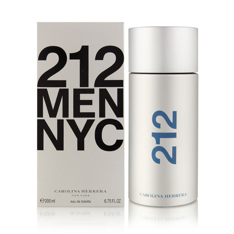 212 MEN NYC by Carolina Herrera Men Eau De Toilette 6.7 oz