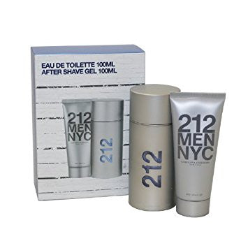 212 MEN NYC by Carolina Herrera Men Gift Set 2 piezas