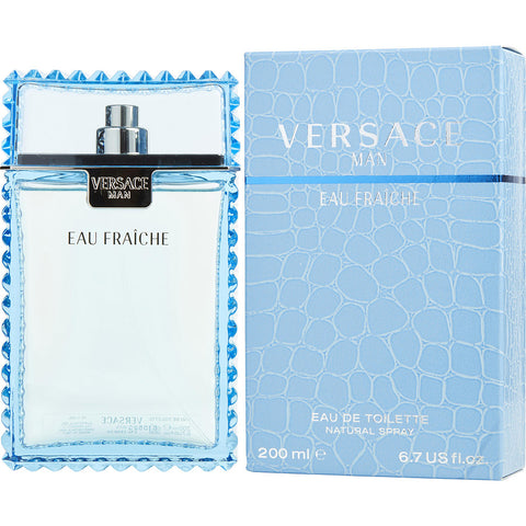 Versace Man Eau Fraiche by Gianni Versace Men Eau De Toilette 6.7 oz