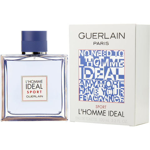 Guerlain L'Homme Ideal Sport by Guerlain Men Eau De Toilette 3.3 oz