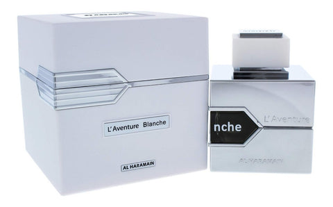 L'Aventure Blanche by Al Haramain Men Eau De Parfum 3.3 oz