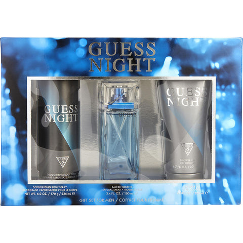 Guess Night by Guess Men Gift Set 3 Piezas