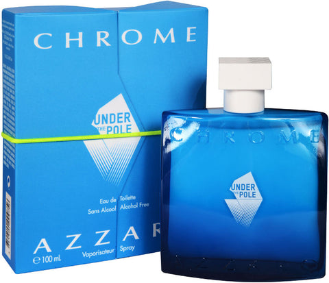 Under The Pole Chrome by Azzaro Men Eau De Toilette 3.4 oz