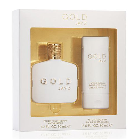 Jay Z Gold by Jay-Z Men Gift Set 2 Piezas