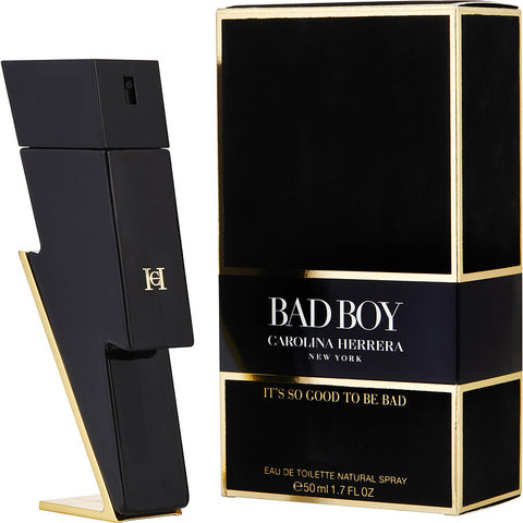 Bad Boy By Carolina Herrera Men Eau De Toilette 1.7 oz
