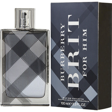 Burberry Brit by Burberry Men Eau De Toilette 3.3 oz