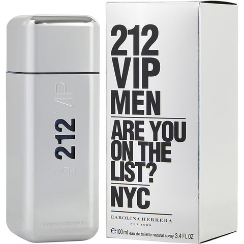 212 VIP by Carolina Herrera Men Eau De Toilette 3.4 oz