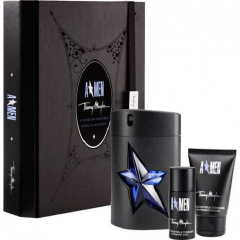 A*Men  by Thierry Mugler Men Gift Set 3 Piezas