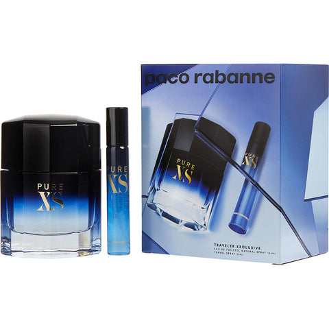 Pure Xs by Paco Rabanne Men Gift Set 2 Piezas