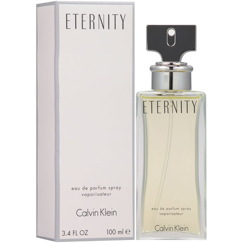 Eternity by Calvin Klein Women Eau De Parfum 3.4 oz