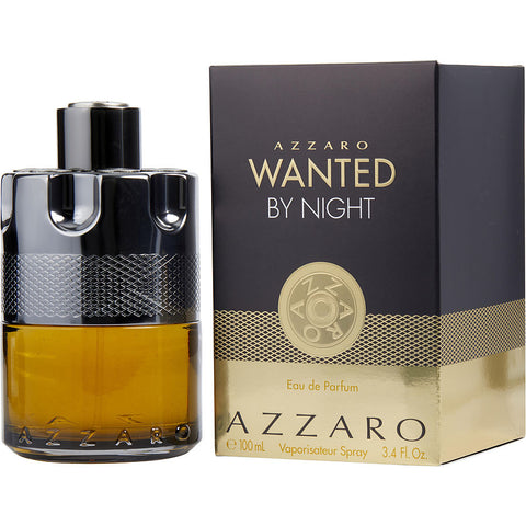 Azzaro Wanted By Night by Azzaro Men Eau De Parfum 3.4 oz