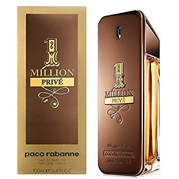 1 Million Prive by Paco Rabanne Men Eau De Parfum 3.4 oz