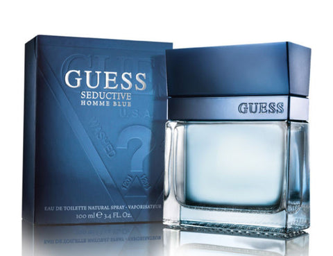 Guess Seductive Homme Blue by Guess Men Eau De Toilette 3.4 oz
