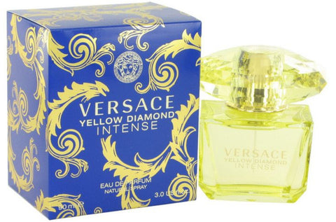 Versace Yellow Diamond Intense by Gianni Versace Women Eau De Parfum 3 oz