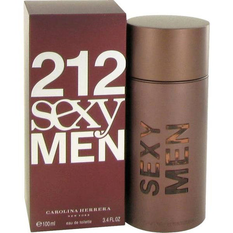 212 Sexy Men by Carolina Herrera Men Eau De Toilette 3.4 oz