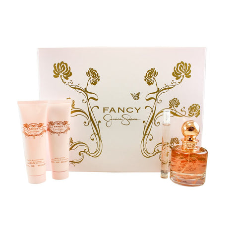Fancy by Jessica Simpson Women Gift Set 4 Piezas