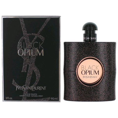 Black Opium by Yves Saint Laurent Women Eau De Toilette 3 oz