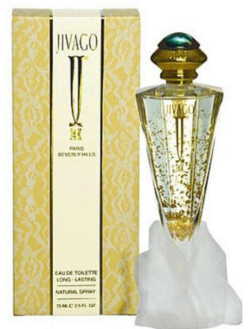 Jivago 24k by Jivago Women Eau De Toilette 2.5 oz