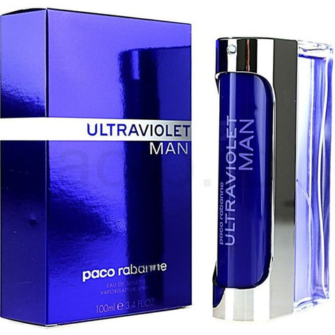 Ultraviolet by Paco Rabanne Men Eau De Toilette 3.4 oz
