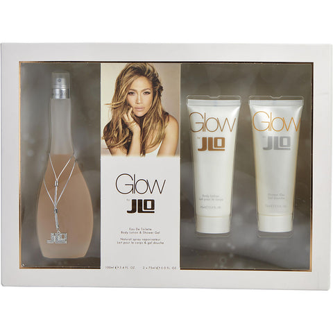 Glow by Jennifer Lopez Women Gift Set 3 Piezas