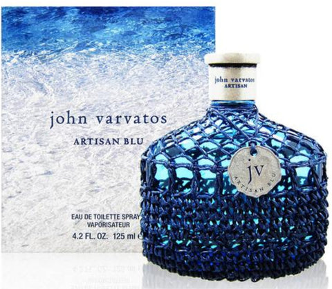 John Varvatos Artisan Blu by John Varvatos Men Eau De Toilette 4.2 oz
