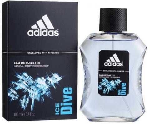 Adidas Ice Dive Men Eau De Toilette 3.4 oz