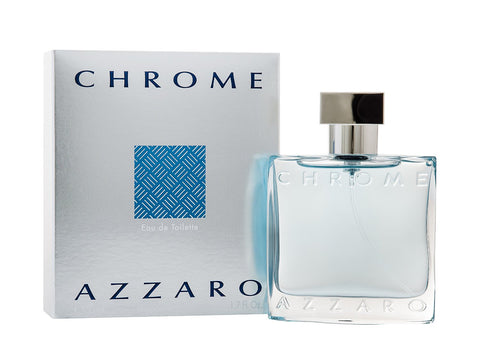 Chrome by Azzaro Men Eau De Toilette 3.4 oz