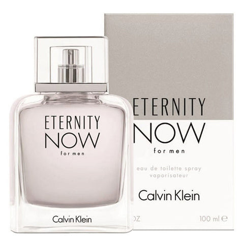 Eternity Now by Calvin Klein Men Eau De Toilette 3.4 oz